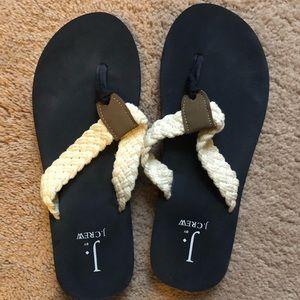 ☀️JCREW Flip Flop // Navy // 7 ☀️